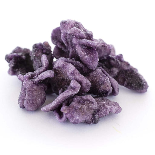 DRIED EDIBLE CRYSTALLISED VIOLETS 100G
