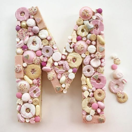 COOKIE CAKE CUTTERS LETTER M/W