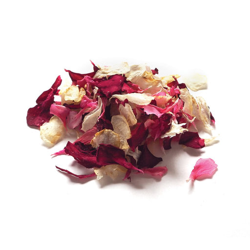 DRIED EDIBLE ORGANIC PELARGONIUM MIXED 4G