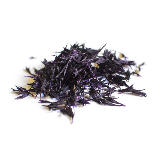 DRIED EDIBLE FLOWER CORNFLOWER AUBERGINE 2G