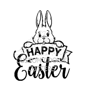 STAMP EMBOSSER HAPPY EASTER V2