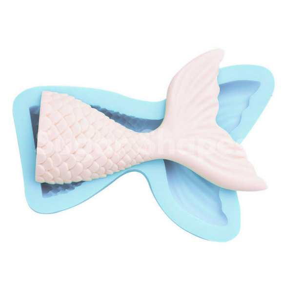 SILICONE MOULD MERMAID TAIL LARGE