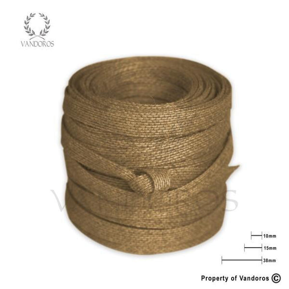 RIBBON ECO NATURAL 15MM