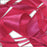 RIBBON POLY SATIN FUCHSIA 25MM
