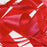RIBBON POLY SATIN RED 10MM