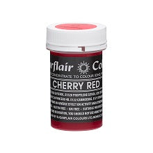 SUGARFLAIR PASTEL PASTE 25G CHERRY RED