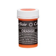 SUGARFLAIR PASTEL PASTE 25G ORANGE