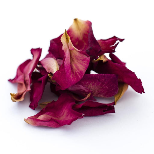 DRIED EDIBLE ORGANIC ROSE PETALS RED 5G