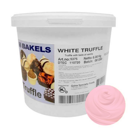 BAKELS STRAWBERRY CHOCOLATE TRUFFLE 6KG