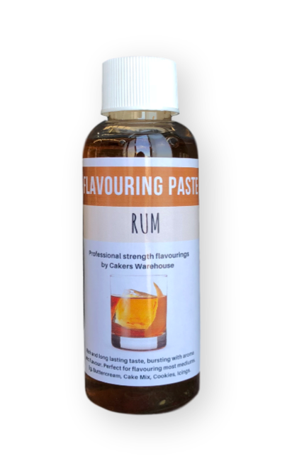 FLAVOURING PASTE 100G RUM