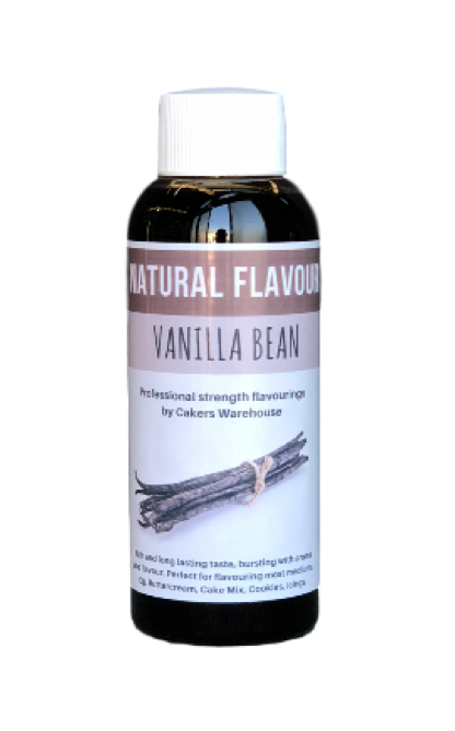 NATURAL FLAVOURING 50ML  VANILLA BEAN