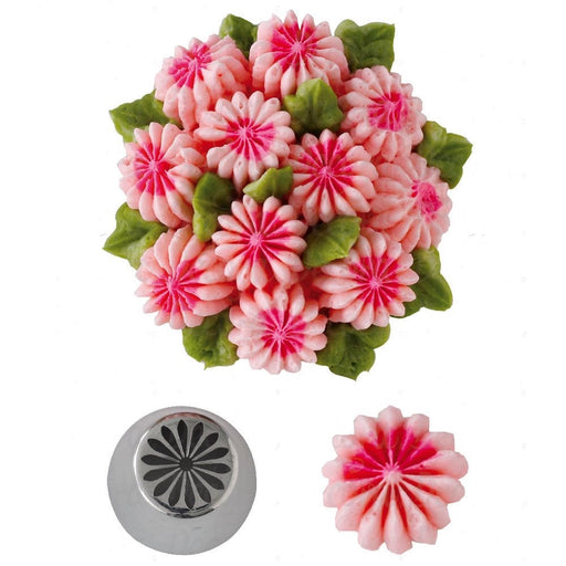 SPECIALTY PIPING TIP MULTI PETAL DAISY