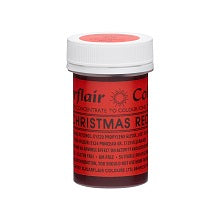 SUGARFLAIR PASTE 25G CHRISTMAS RED