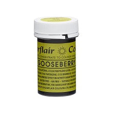 SUGARFLAIR PASTE 25G GOOSEBERRY