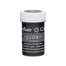 SUGARFLAIR PASTE 25G LIQUORICE