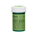 SUGARFLAIR PASTE 25G PARTY GREEN