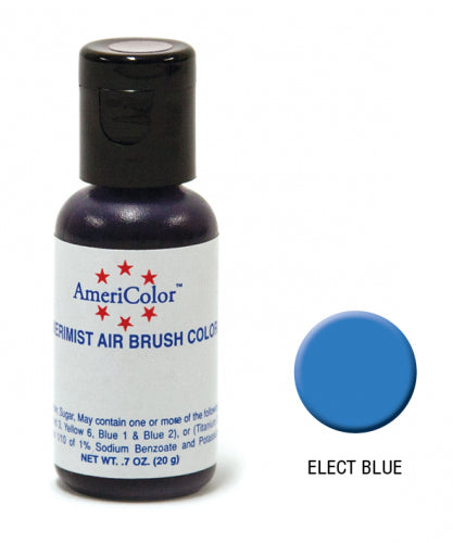 AMERICOLOR AIRBRUSH COLOUR 0.65OZ ELECTRIC BLUE