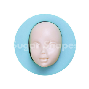 SILICONE MOULD FIGURINE HEAD TEEN