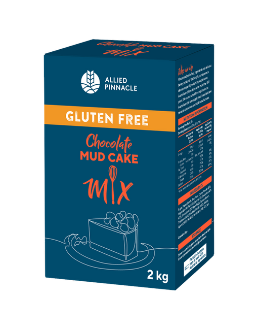 CAKE MIX 2KG ALLIED PINNACLE GLUTEN FREE CHOC MUD
