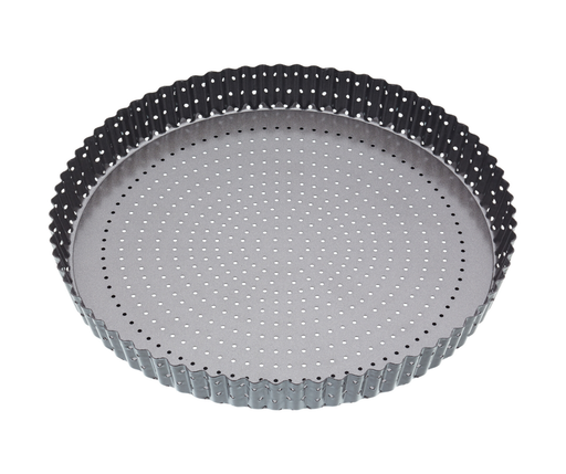 MASTERCRAFT CRUSTY BAKE LOOSE BASE ROUND FLAN/QUICHE PAN 30CM