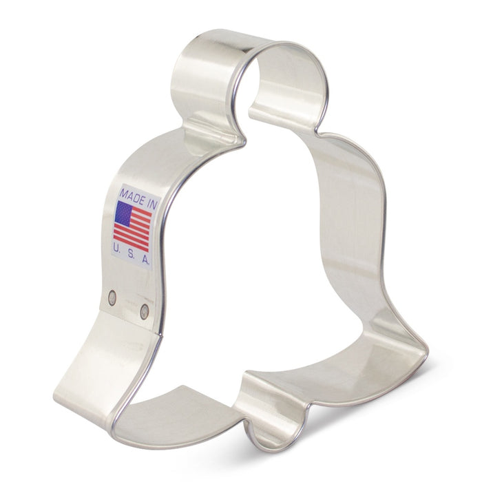 ANN CLARK COOKIE CUTTER BELL 3.5""