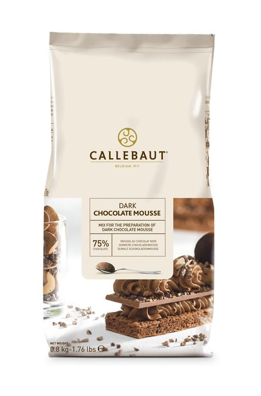 CALLEBAUT DARK CHOCOLATE MOUSSE MIX 800G
