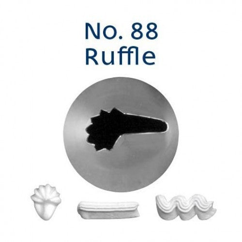 PIPING TIP RUFFLE #88