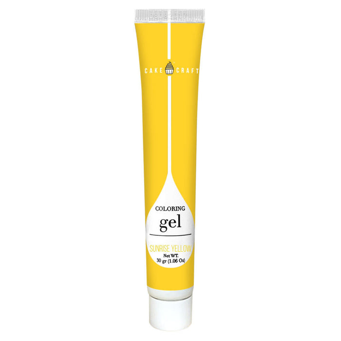 GEL COLOUR 30G SUNRISE YELLOW