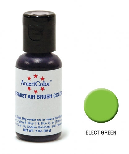 AMERICOLOR AIRBRUSH COLOUR 0.65OZ ELECTRIC GREEN
