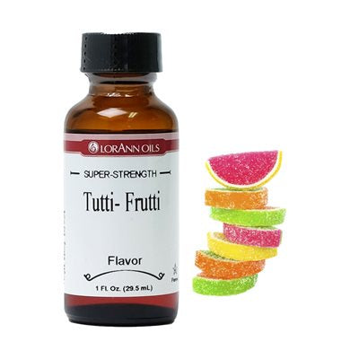 CANDY OIL FLAVOUR 1OZ TUTTI FRUTTI