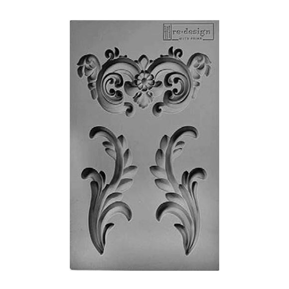 SILICONE MOULD DECOR EVERLY FLOURISH