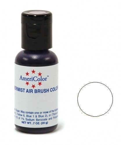 AMERICOLOR AIRBRUSH COLOUR 0.65OZ BRIGHT WHITE