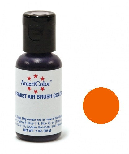 AMERICOLOR AIRBRUSH COLOUR 0.65OZ ELECTRIC ORANGE