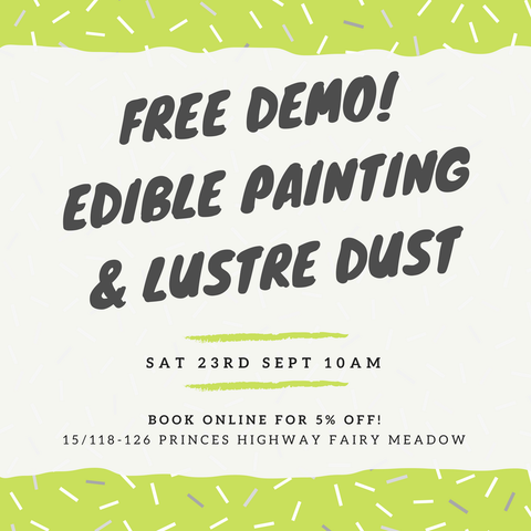 DEMO PAINTING & LUSTRE SAT 23.9.17