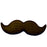 TOPPER MOUSTACHE 6PC