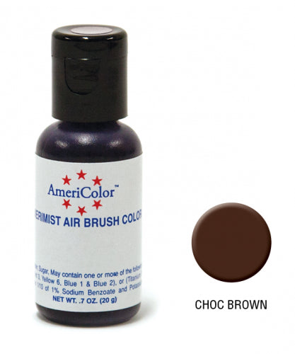 AMERICOLOR AIRBRUSH COLOUR 0.65OZ CHOCOLATE BROWN