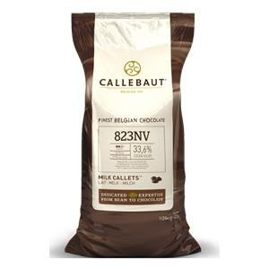 CALLEBAUT CHOCOLATE 10KG 823NV MILK