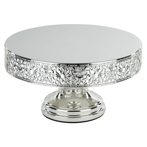 CAKE STAND SILVER PLATED 12""