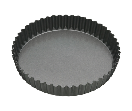MASTERCRAFT HEAVY LOOSE BASE ROUND FLAN/QUICHE PAN 23CM