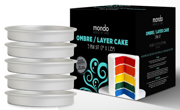 MONDO PRO ROUND OMBRE/LAYER 5PC