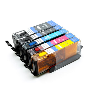 CANON 650 EDIBLE INK CARTIDGE SET 5PC