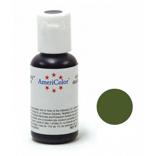 AMERICOLOR GEL COLOUR 21G OLIVE