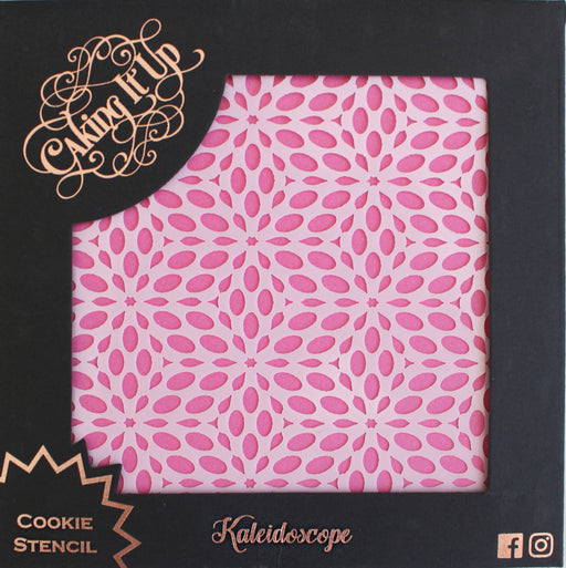 CAKING IT UP COOKIE STENCIL KALEIDOSCOPE