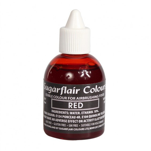 SUGARFLAIR AIRBRUSH 60ML RED