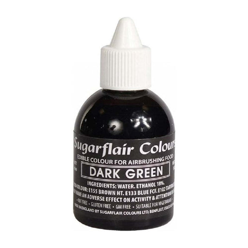 SUGARFLAIR AIRBRUSH 60ML DARK GREEN
