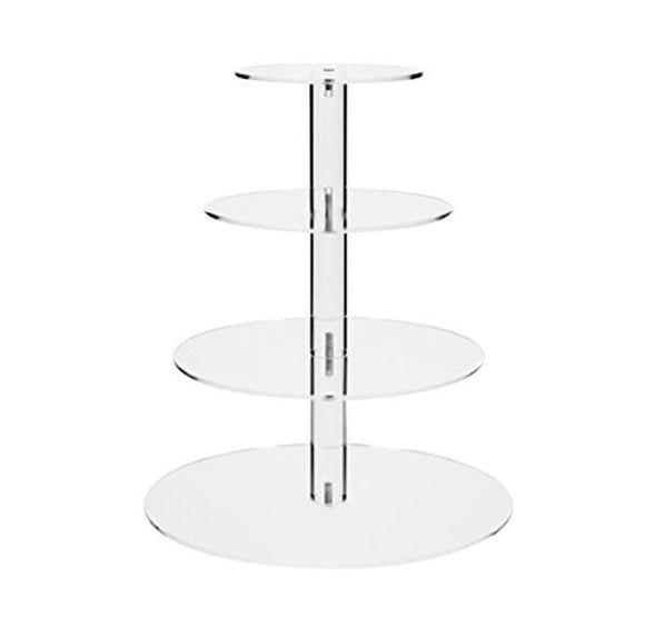 ACRYLIC CAKE STAND 4 TIER