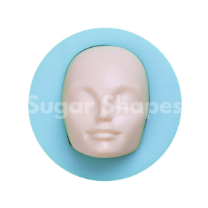 SILICONE MOULD FIGURINE HEAD ADULT