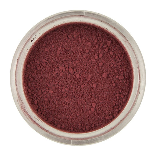 RAINBOW DUST POWDER COLOUR & PETAL DUST CLARET