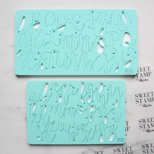 SWEET STAMP HANDWRITTEN SET UPPER & LOWER