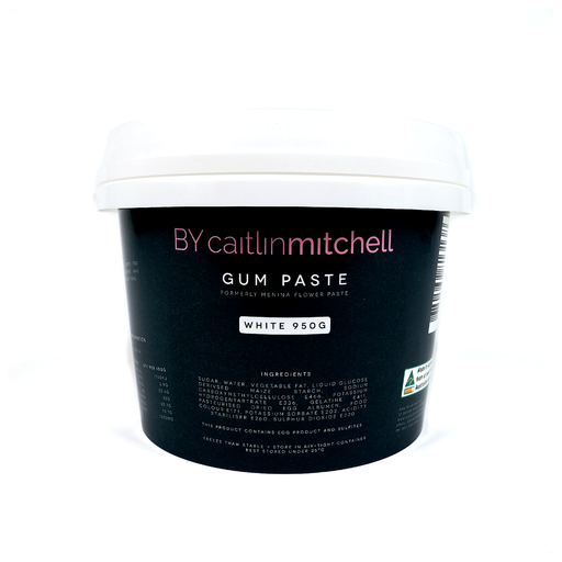 BY CAITLIN MITCHELL GUM PASTE 950G WHITE